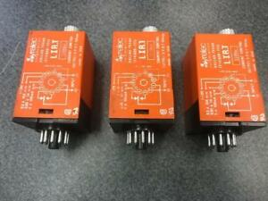 Lot Of 3 Syrelec Current Control Relay 110vac