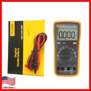 New Fluke 15b F15b Digital Multimeter Meter Auto Range Ac Dc Voltage Current