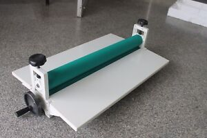 29 5 Manual Cold Roll Laminator Laminating Machine Vinyl tape Mounting Applicat