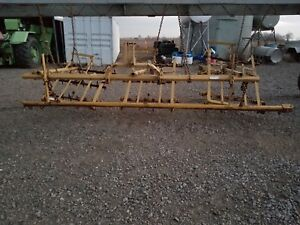 Harrow Spike Tooth 10 For Grain Planting 3 Point In Very Nice Condition