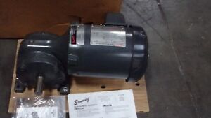 Browning 1 2 Hp Motor Right Angle Gear Motor Synchrogear Ratio 39 New Old Stock