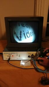 Endoscopic Video Camera System Smith And Nephew Dyonics Vision 111 W monitor