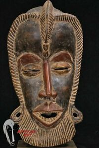 Very Large Dan Face Mask 20 W Custom Mount Cote D Ivoire African Art