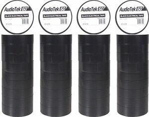 40 Piece At elt8 Premium 60 Ft Black Electrical Tape 10pc Per Roll