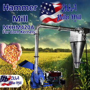 Electric Hammer Mill For Corn Kernels Mkhm420a