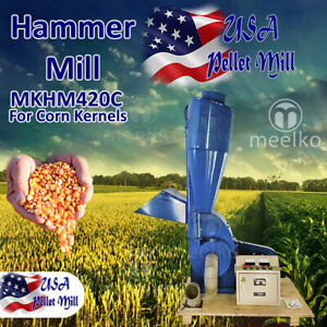 Electric Hammer Mill For Corn Kernels Mkhm420c