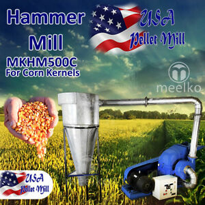 Electric Hammer Mill For Corn Kernels Mkhm500c