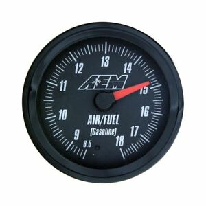 Aem 30 5130 Wideband Uego Air Fuel Gauge Analog Style 8 5 To 18