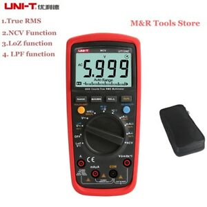 Uni t Ut139e Digital Multimeter True Rms Meter Low Pass Filter And Loz Temp Test
