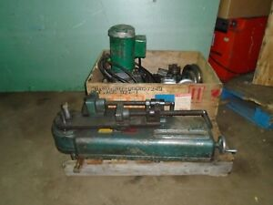 Parker 632 Hydraulic Tubing Bender With Pump And Several Dies