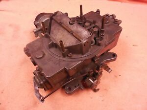 66 Mustang 289 Autolite 4100 4v 4 Barrel Carburetor 6ph