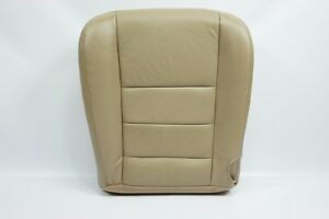 2002 To 2007 Ford F250 F 350 Super Duty Lariat Passenger Bottom Seat Cover Tan