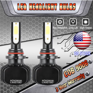 9006 Hb4 Led Headlight Bulbs For Honda Civic 2006 2013 Accord 1995 2007 Low Beam