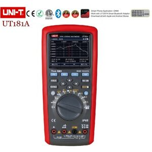 Uni t Ut181a True Rms Datalogging Multimeters Auto Range Dmm Cap Temp Ohm Meter