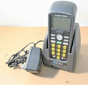 Handheld Products Dolphin Follett Phd Barcode Scanner W cradle