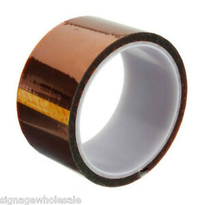 Heat Resistance Tape 40mm X 100ft 3d Sublimation Transfer Thermal Proof