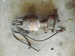 Farmall H M Ih Tractor Engine Motor Distributor Drive Assembly Plug Wires