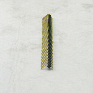 200pc 1x40 Pin Pol Single Row 90 Right Angle Pin Male Header Strip 2 54mm Pitch