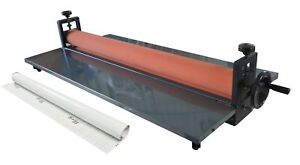 Cold Laminator 51in Manual Desktop 1roller 5yd Length Cold Laminating Film New