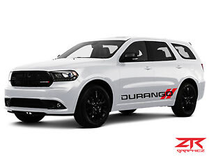 Dodge Durango Rt Srt Hemi Rocker Panel Decal Kit Sticker