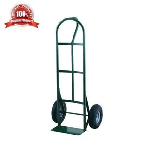 Harper 600lbs Capacity Loop Handle Hand Truck Curved Back Strap Moving Dolly