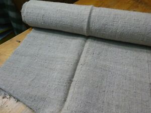 A Homespun Linen Hemp Flax Yardage 10 Yards X 24 9588