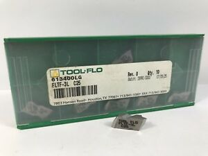 Tool flo Fltf 3l New Carbide Inserts Grade C25 9pcs As