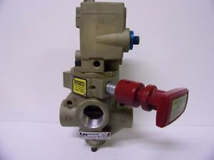 Ross 2773a5804 Pneumatic Solenoid Valve Pressure Relief Flow Control Assembly