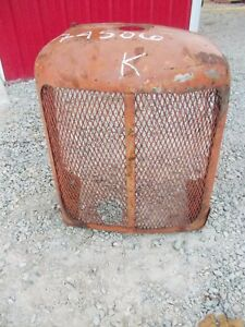 Allis Chalmers Styled Wc Tractor Ac Front Nose Cone Grill Radiator Outer Cover