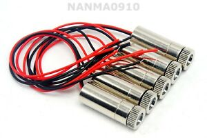 5pcs Powerful Focusable 100mw 980nm Ir Infra red Dot line Laser Diode Module