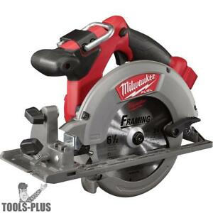 Milwaukee 2730 20 18 Volt M18 Fuel 6 1 2 Circular Saw tool Only New