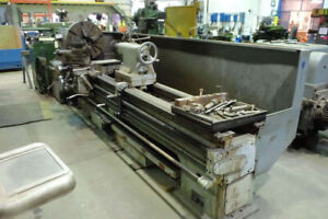 32 42 Swing X 96 Center Ajax Engine Lathe Metal Turning Machine