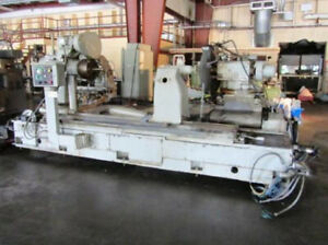 52 Swing X 72 Centers Norton Fanuc 2 Axis Cnc Cylindrical Od Grinder