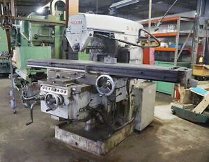 18 X 96 Okk Horizontal Milling Machine Metal Milling 30hp