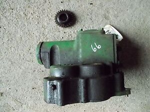 Oliver 66 Rowcrop Tractor Orginal Good Working Belt Pulley Drive Assembly