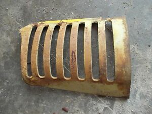 Oliver 77 Tractor Original Ol Front Nose Cone Bar Grill