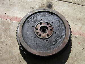Oliver 88 Rowcrop Tractor Engine Flywheel With Ring Gear
