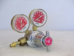 L tec R 76 Flowmeter Fuel Gas Regulator Welding Cutting 75 350 Used