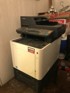 Kyocera Ecosys M6535cidn Scan Copy Fax Print Used 1 Year