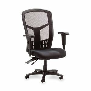 New Black High Back Office Desk Computer Mesh Chair Padded Seat Adjustable Roll