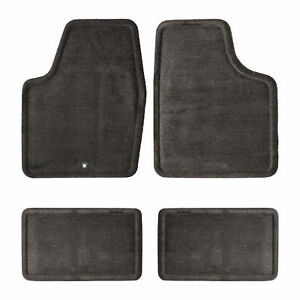 Oem New Front And Rear Carpet Floor Mats Ebony 06 13 Chevrolet Impala 25795457