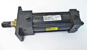 Parker Series 2a Pneumatic Cylinder 2 00 Cj2aus34ac 3 937 Envelope Press 250psi
