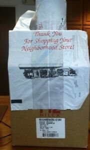 Neighborhood C store thank You T shirt Bags On A Roll Rollmate Large 1600 Ct