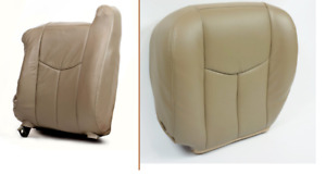 2003 2004 2005 Gmc Sierra 1500 2500 3500 Hd Driver And Back Seat Cover Tan Vinyl