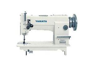 Yamata 0618 Needle Feed Walking Foot Upholstery Sewing Machine Head Only