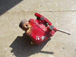Ford 8n Tractor Marvel Schebler Working Carburetor