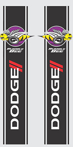 1500 2500 3500 Dodge Ram Side Stripes Rumble Bee Super Decal Set Graphic Sport