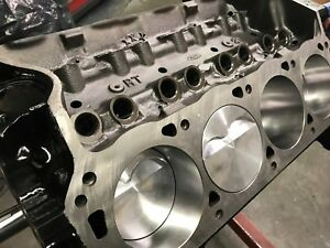331ci Ford Short Block Race Prep Makes 500 Hp Forged Pistons 4340 Crank H Beam