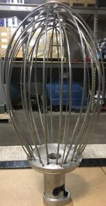 Hobart Commercial Mixer 40qt Whisk Mixing Attachment Model Vmlh 40d Our 9