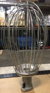 Hobart Commercial Mixer 40qt Whisk Mixing Attachment Model Vmlh 40d Our 10